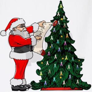 Cancer Christmas Tree