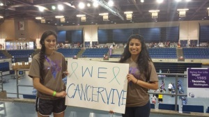 "Team Co-Captains of ""We Cancervive"""
